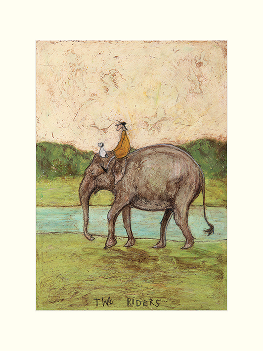 Sam Toft (Two Riders) Mounted Prints