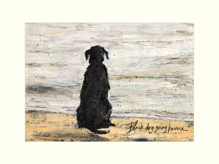 Sam Toft (Black Dog Going Home) Mounted Prints