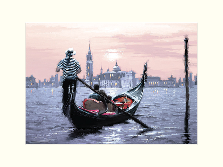Richard Macneil (Venice) Mounted Prints