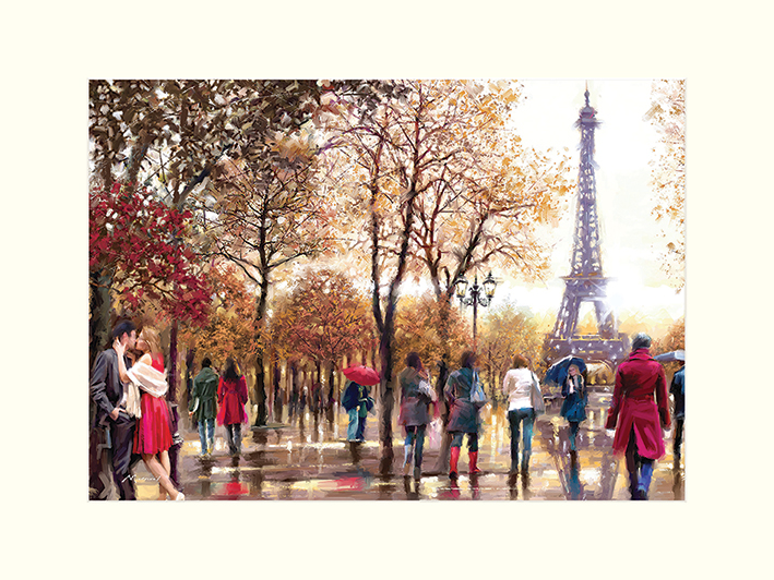 Richard Macneil (Eiffel Tower) Mounted Prints