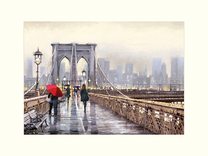 Richard Macneil (Brooklyn Bridge) Mounted Prints