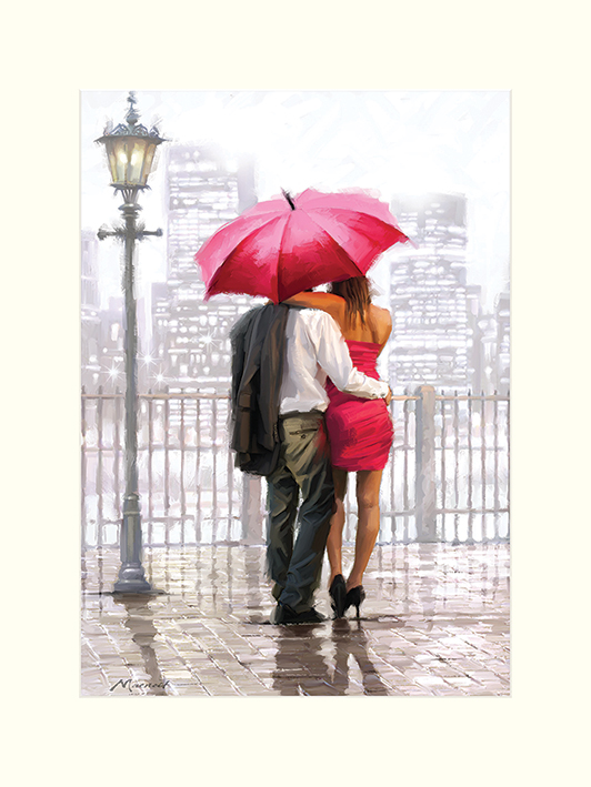 Richard Macneil (Bright Lights) Mounted Prints