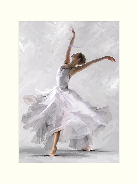 Richard Macneil (Dance of the Winter Solstice) Mounted Prints