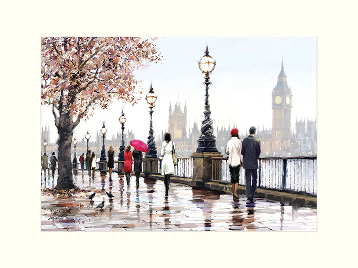 Richard Macneil (Thames View) Mounted Prints