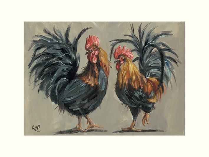 Louise Brown (Cock-a-Hoop) Mounted Prints