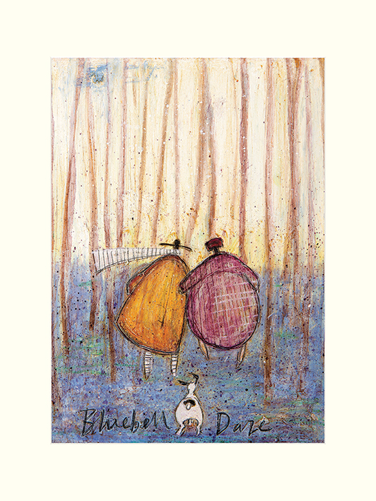 Sam Toft (Bluebell Daze) Mounted Prints