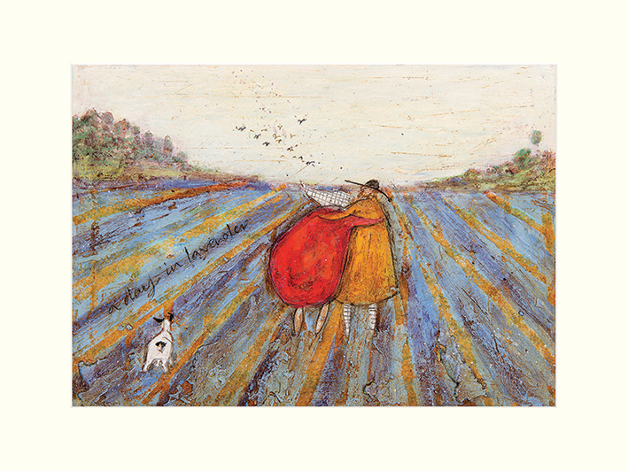 Sam Toft (A Day in Lavender) Mounted Prints