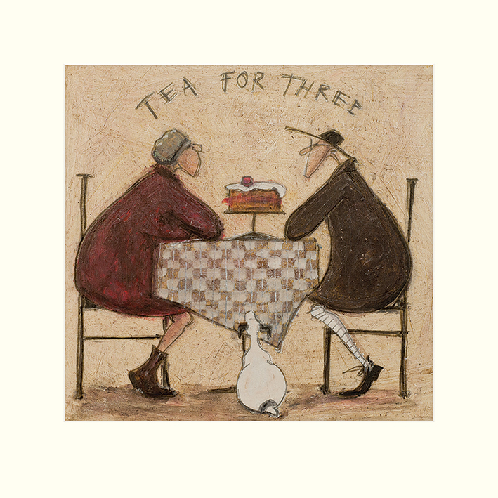 Sam Toft (Tea for Three 2) Mounted Prints