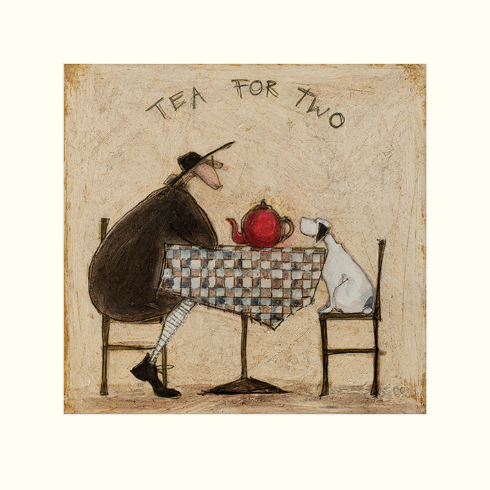 Sam Toft (Tea for Two) Mounted Prints