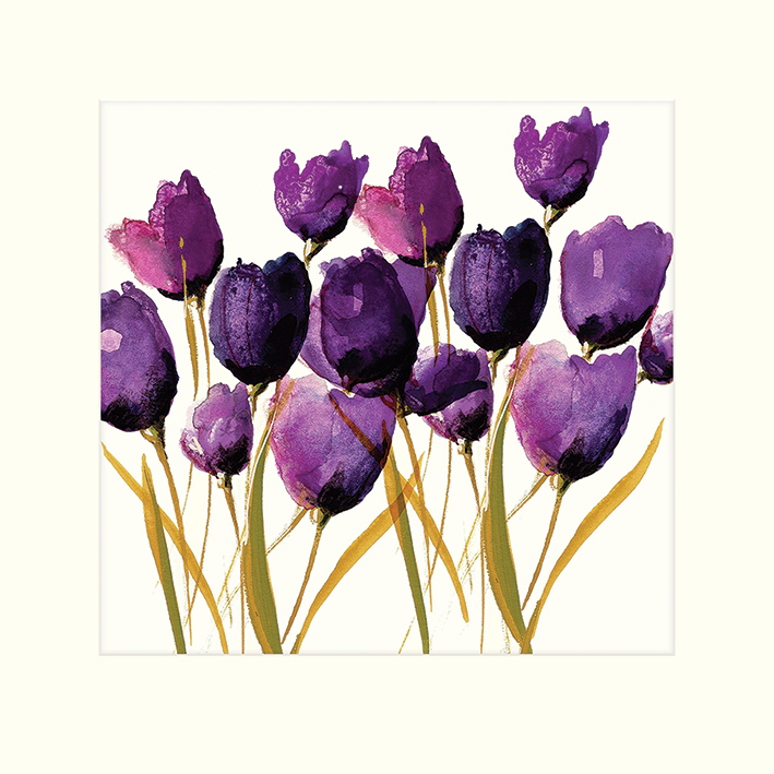 Nicola Evans (Tulips) Mounted Prints