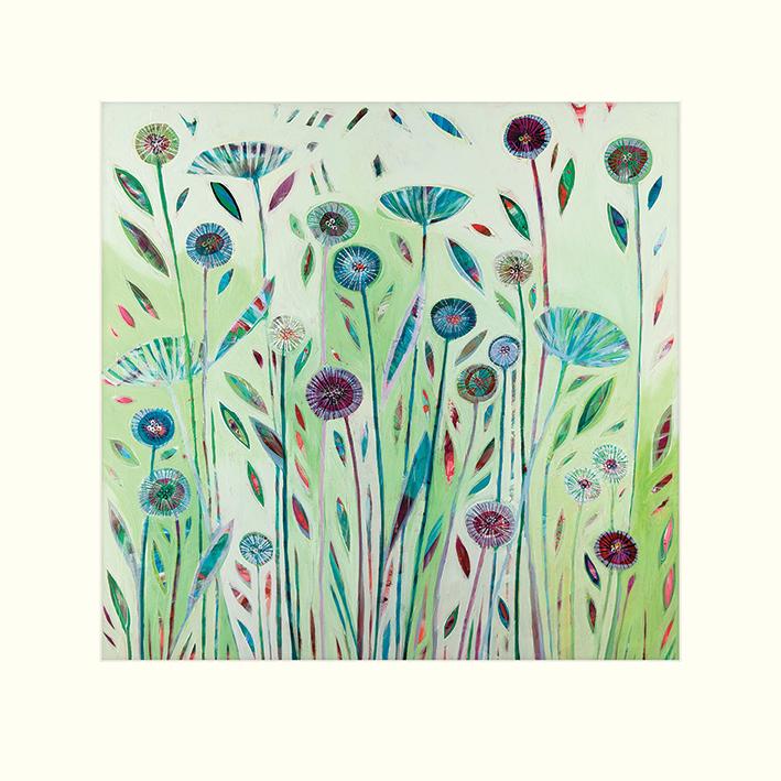 Shyama Ruffell (Green Dreams) Mounted Prints
