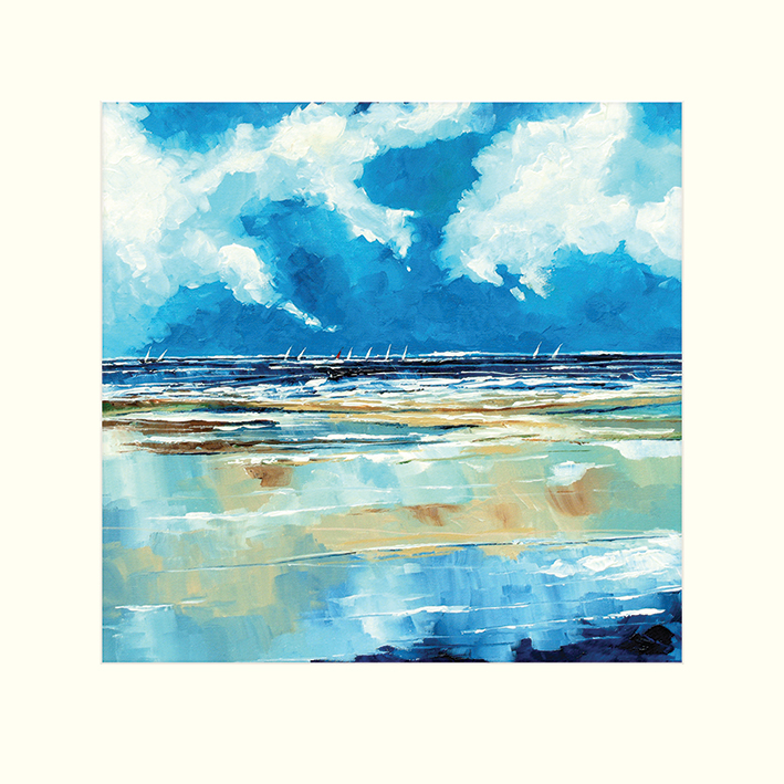 Stuart Roy (Seascape II) Mounted Prints