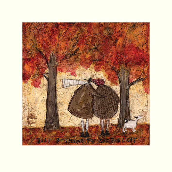 Sam Toft (Just Beginning To See The Light) Mounted Print