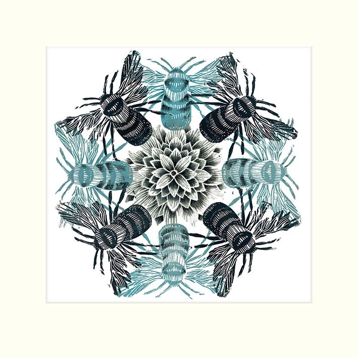 Amanda Colville (Circle of Bees) Mounted Prints