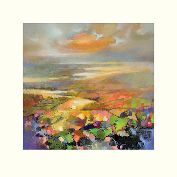 Scott Naismith (Highland Terrain) Mounted Print