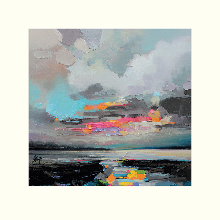 Scott Naismith (Refraction) Mounted Print
