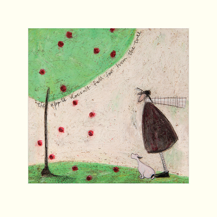 Sam Toft (The Apple Doesn't Fall Far From The Tree) Mounted Prints