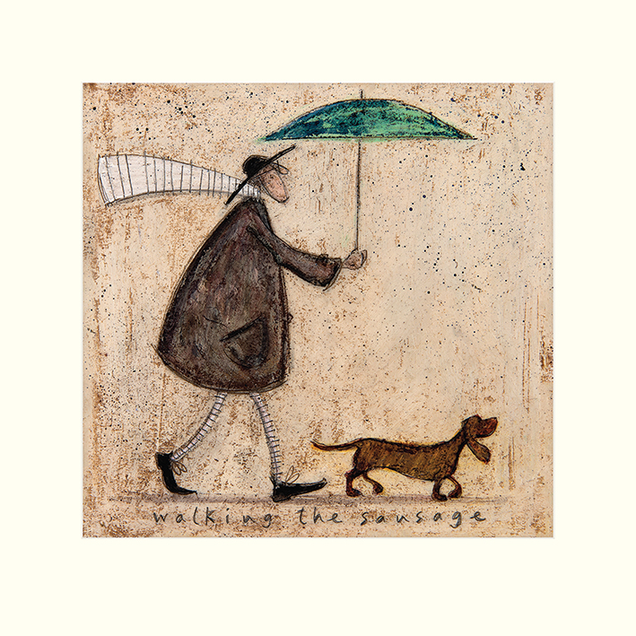 Sam Toft (Walking The Sausage) Mounted Prints
