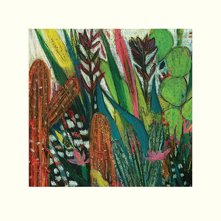 Shyama Ruffell (Jungle Boogie) Mounted Print