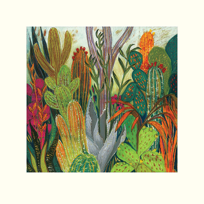 Shyama Ruffell (The Cactus) Mounted Prints