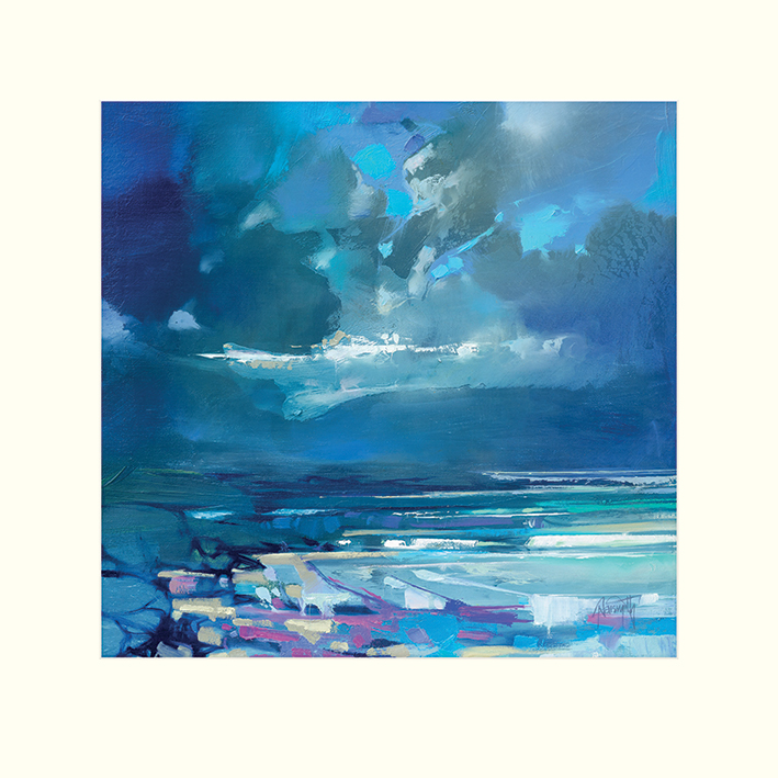 Scott Naismith (West Coast Blues I) Mounted Prints