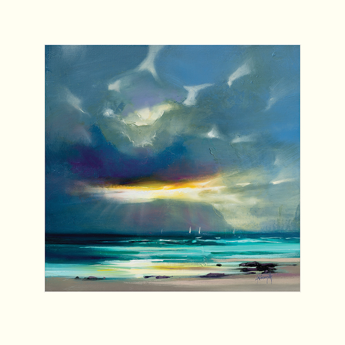 Scott Naismith (West Coast Blues II) Mounted Prints