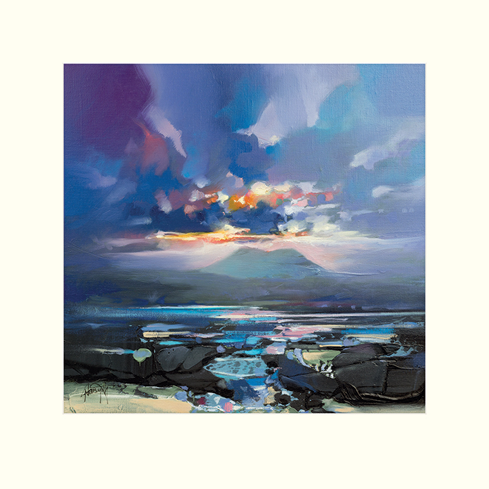 Scott Naismith (West Coast Blues III) Mounted Prints