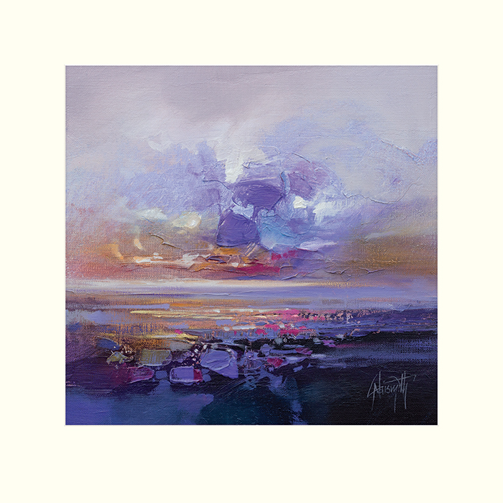 Scott Naismith (Colour Collision Study) Mounted Prints