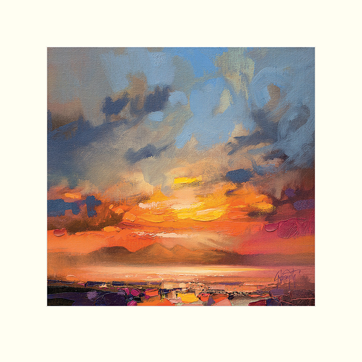 Scott Naismith (Rum Light Study) Mounted Prints