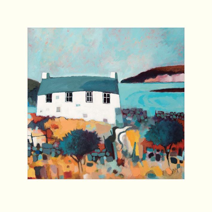 Derek Melville (Headland View) Mounted Prints