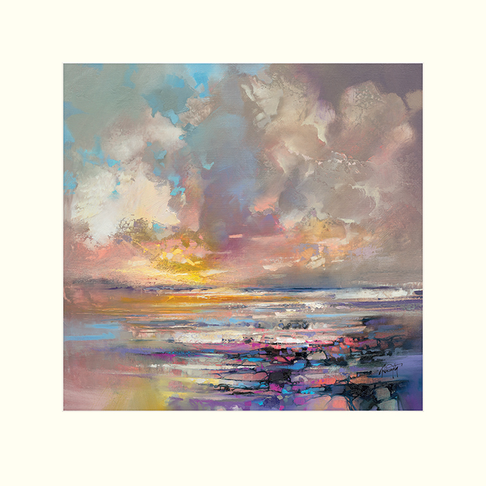 Scott Naismith (Radiant Energy) Mounted Print