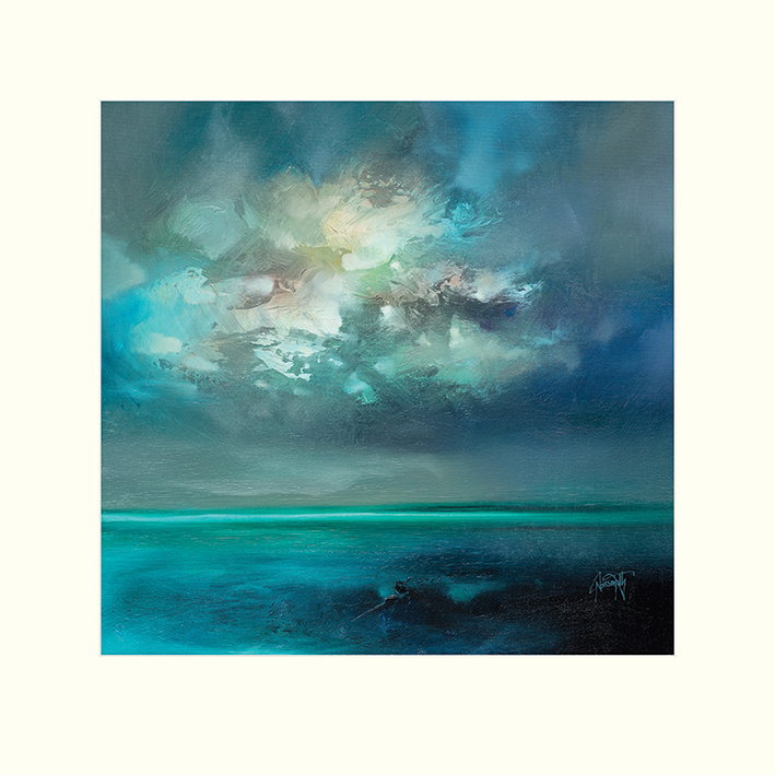 Scott Naismith (Isle of Skye Emerges) Mounted Prints