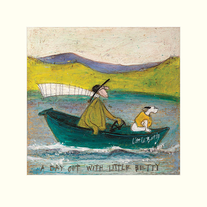 Sam Toft (A Day out with Little Betty) Mounted Print