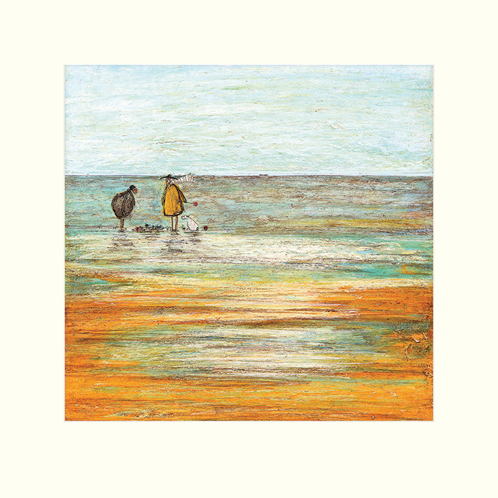 Sam Toft (Sandcastle Progress Report) Mounted Print