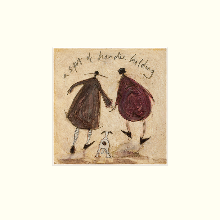 Sam Toft (A Spot of Handie Holding) Mounted Prints