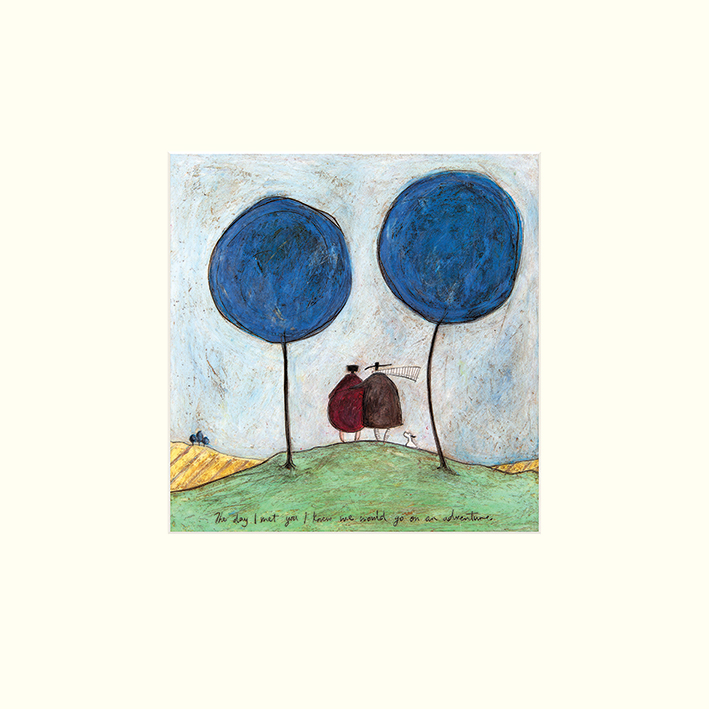 Sam Toft (The Day I Met You) Mounted Prints