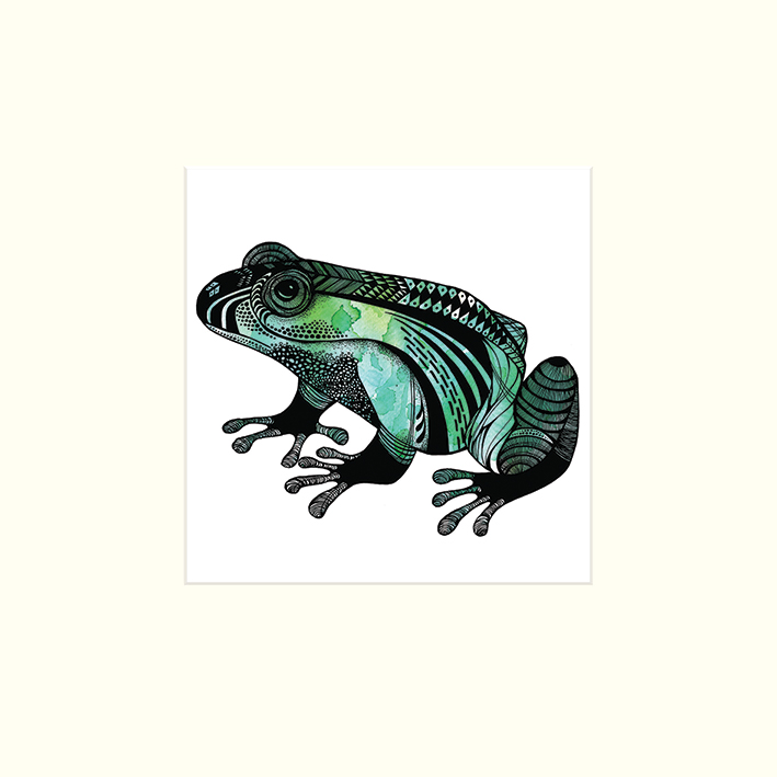 Sofie Rolfsdotter (Le Frog) Mounted Print