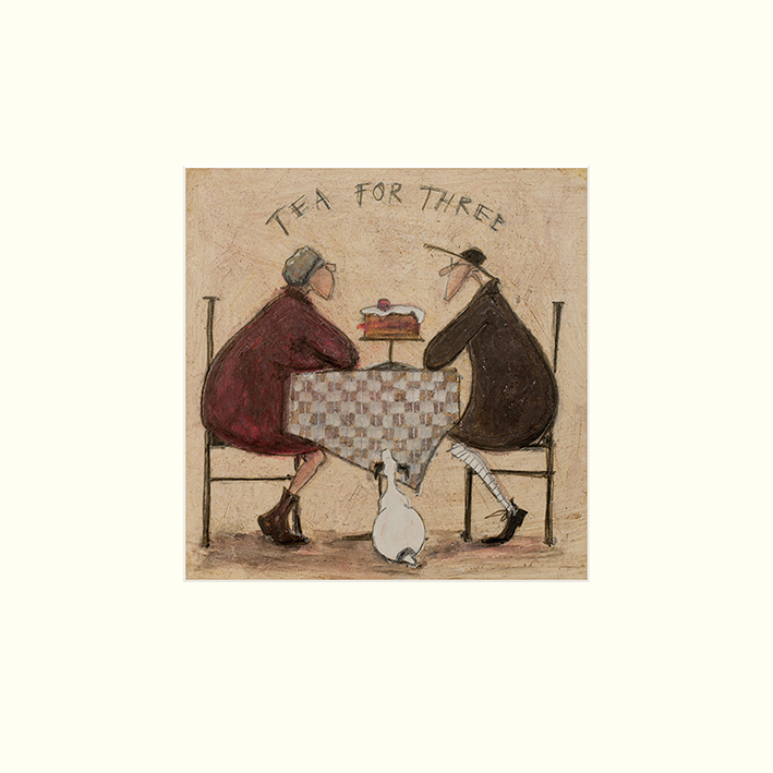 Sam Toft (Tea for Three 2) Mounted Prints
