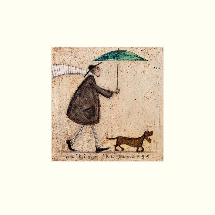 Sam Toft (Walking The Sausage) Mounted Prints