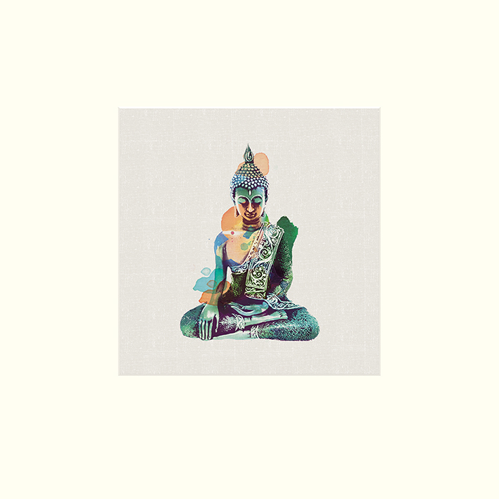 Summer Thornton (Jade Buddha) Mounted Prints