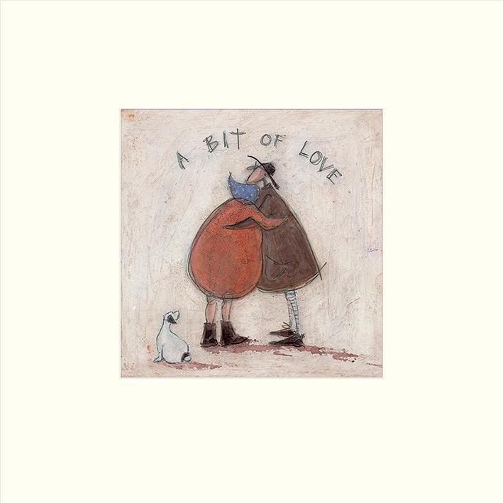 Sam Toft I Can Sing a Beach Hut WDC94726 BOX CANVAS ART PRINT 40cm X 50cm