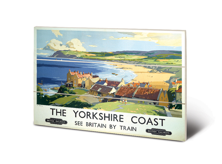 The Yorkshire Coast (2) Wood Prints