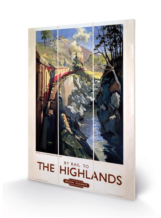 The Highlands Wood Prints