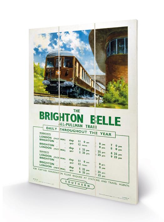 Brighton Belle Wood Prints