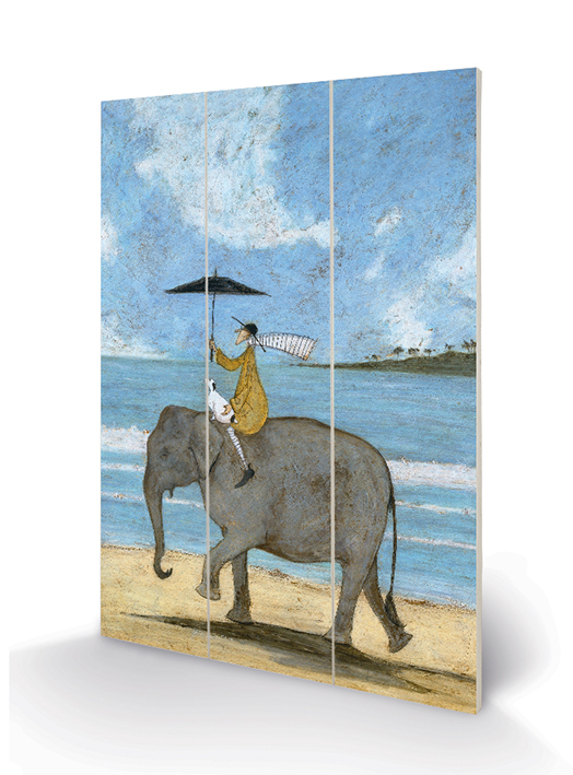Sam Toft (On The Edge Of The Sand) Wood Prints