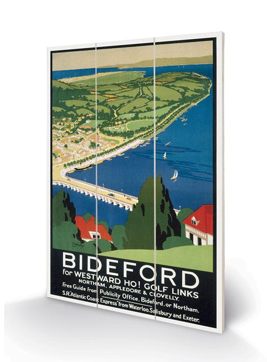 Bideford Wood Prints