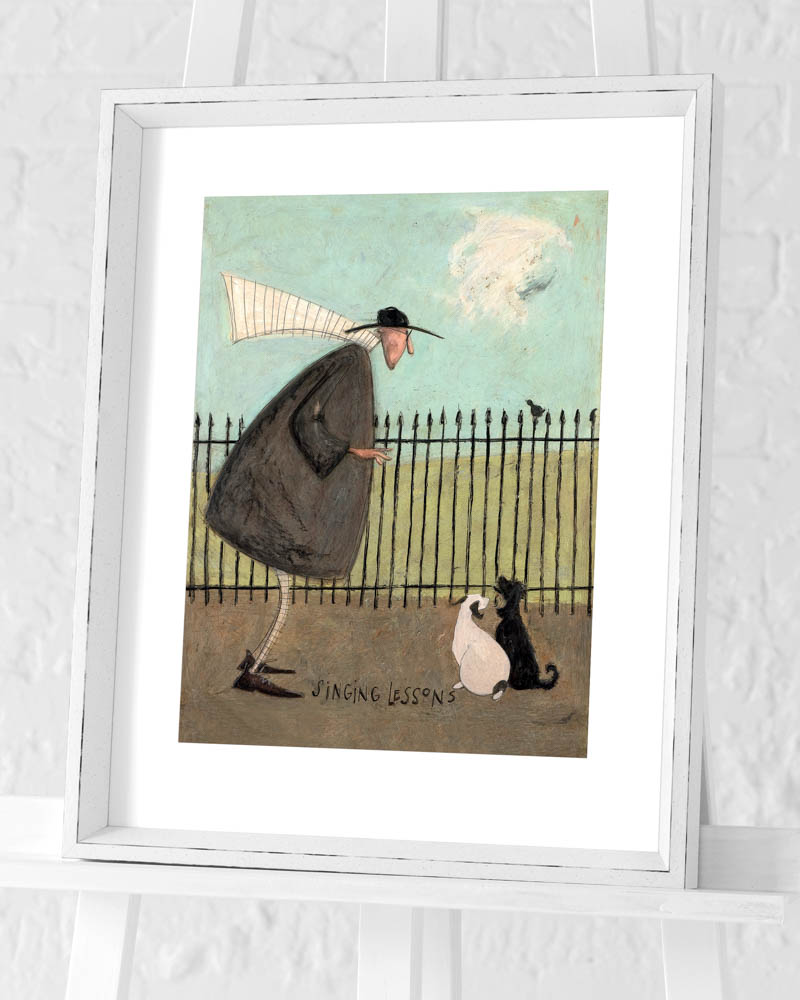 Sam Toft (Singing Lessons) Pre-Framed Art Prints