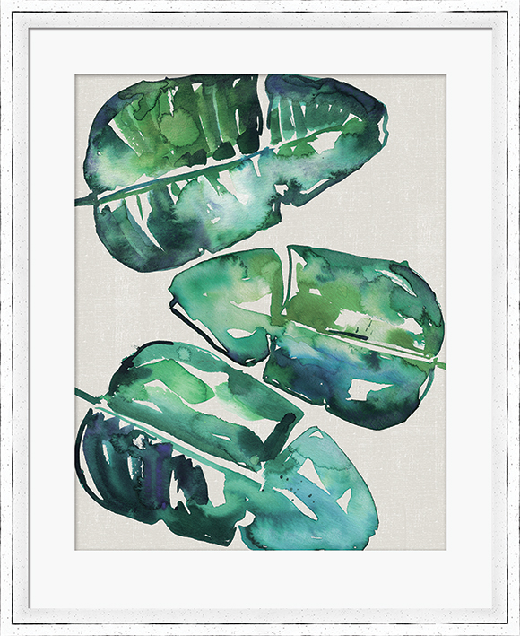 Summer Thornton (Banana Leaves) Pre-Framed Prints