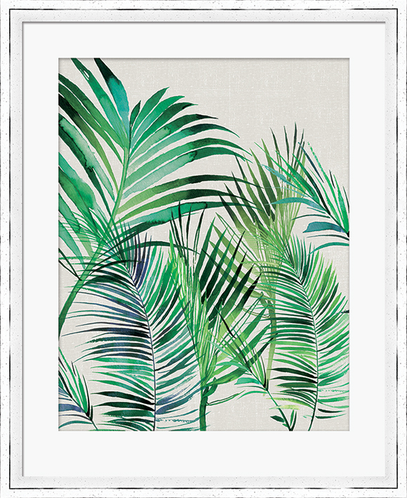 Summer Thornton (Palm Leaves) Pre-Framed Prints