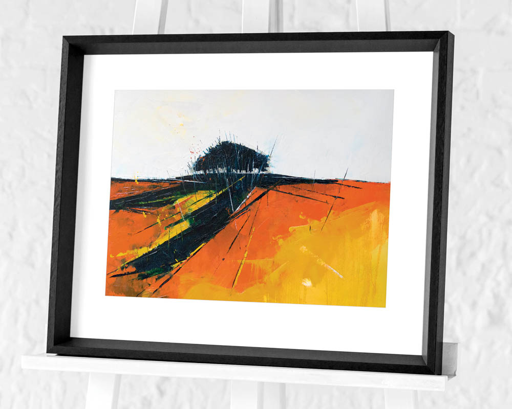 Simon Howden (Autumn Trail) Pre-Framed Art Print